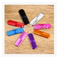 Wholesale Home Button Stickers For Galaxy - Wholesale-Hot sale!Colorfull Metal home button stickers for Samsung GALAXY S5 free shipping
