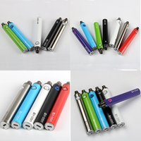 Wholesale Ego V3 - eGo T Vape Pen Battery Bottom Charge Batteries 1300mah UGO V3 USB Passthrough E Cig with USB Cable Charger 510 Threading