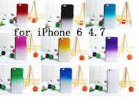 Wholesale Iphone 4s Rain Cases - New Gradient RainDrop Hard PC Case For iPhone 4 4S 4G 5 5C 5 5S 6 4.7'' Plus 5.5'' iPhone6 6+ 3D Rain Drop Clear Plastic Cover Free shipping