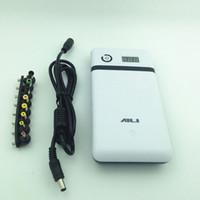 étuis gratuits pour ordinateur portable achat en gros de-Livraison gratuite 5V-21V sortie puissance banque cas 6 x 18650 batterie chargeur titulaire avec adaptateur pour ordinateur portable smartphone en plein air de charge
