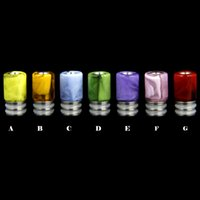 Wholesale Drip Tips Jade - New Arrival Imitation Jade Drip Tips 510 Mouthpiece Fit For Aspire RDA MOD Mephisto Magma VS Glass Drip Tip E Cigarettes