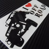 Auto 4x4 4wd I Love off Road Trunk Decal per SUV Vinyl Decor Sticker