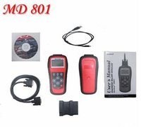 Wholesale Maxidiag Md - Original Autel MD801 maxidiag pro md801 4 in 1 scan tool MD 801 in stock Free DHL shipping