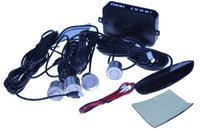 Wholesale Gps Parking Detector - GPS Car LED Parking Sensor Monitor Auto Reverse Backup Radar Detector System + LED Display + 4 Sensors 6 colors to choose wholesale A3*