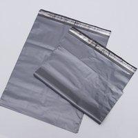 ingrosso plastica della borsa della posta-32 x 20 cm Premium Self-seal Poly Mail Mailing Mail Avvolge buste di plastica corriere postale Mailbag pacchetto nero