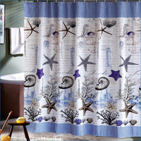 Wholesale Waterproof Polyester bathroom curtains and bath shower curtains sets shower curtain hooks J14369