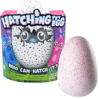 Wholesale Plastic Birds Toys - Hatchimals Egg with Plush Interactive Hatchimal Egg Creative Eggs Interactive Adorable Growing Hatchimals Eggs Novelty Toys