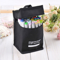 Wholesale finecolour markers wholesale - Standard package 24 Color Commonly Used Color Finecolour 2 Generation Markers Copic Marker Sketch Manga Art Marker Copic Sketch Marker Sets