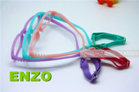 Wholesale Screw Strap - Kids Eyeglasses with Cord Size 47, One-piece Children Glasses Frame & Strap, No Screw Unbreakable Flexible Girls Boys Glasses