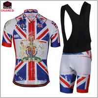 Wholesale Cycling Jerseys Uk - United Kingdom Cycling Jersey Jersey UK Style Skinsuit Cycling Summer Bike Shirt Jerseys Mtb Cool Bicycle Jersey.