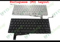 """Wholesale Notebook Layouts - NEW Notebook Laptop keyboard for Apple MacBook Pro 15"""" Unibody A1286 2009 2010 2011 2012 Black Portuguese PO Layout (with Backlit Panel)"""