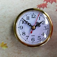Wholesale Wholesale Clock Inserts - Best Quality 5pcs 80mm Gold Insert Clock For Clock Accessories