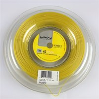 Wholesale Rope Racket - 2015 New arrival hot Luxilon tennis string 125 4G ROUGH tennis gut 1.25mm string rope Polyester Luxilon 4G string for tennis racket