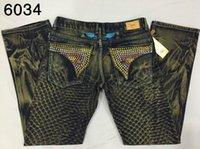 Mens White Jeans Size 32 for sale - 2015 New robin jeans men Slim denim Straight Jeans cowboy high fashion designer famous brand crystal mens jeans size 32-42