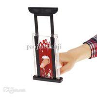 Wholesale Finger Chopper - Wholesale-Best Selling Finger Hay Cutter Chopper Magician Trick Prop Magic Toy
