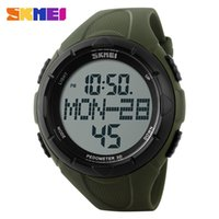 Wholesale Multifunctional Sport Watch - Time America Mens watch waterproof electronic table multifunctional outdoor sports pedometer swimming boys trend Watch