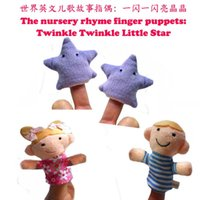 bprice-bprice prices - twinkle little star Finger Puppet Toys Soft Plush Educational Story-telling Toy For Children