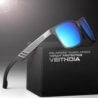 Wholesale Hd Sport Goggles - sunglasses for men HD Aluminum Magnesium Men Brand Sports Driving Fishing Polarized Sunglasses Glasses Goggles Eyewear Accessories 6560