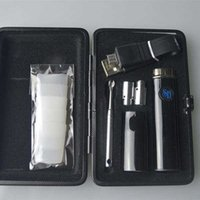 Snoop Dogg Kit de Viagem erva seca cera Mini presente do caso Pens vaporizador com Kits de cigarro de arranque Micro 5Pin Carregador SD Herbal E