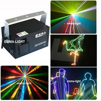 All'ingrosso-DHL RGB 1500mw 1.5W rgb animazione full color laser Stage Lighting ilda 0-30kpps blu 445nm Beam Disco laser