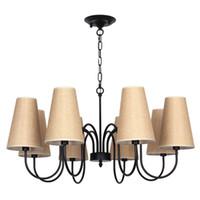 ingrosso lampade da terra soggiorno-Lampada da soggiorno in stile country americano. Lampada da tavolo in stile camera da letto