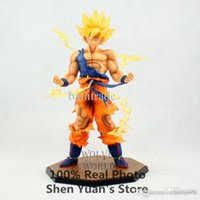 Gros-New Dragon ball Z Dragonball Anime Son Goku Super Saiyan 17cm action figure jouets Retail Box dragonballz