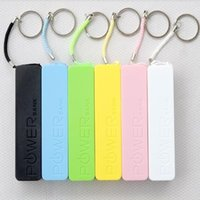 Wholesale Mobile Power Shell - DIY Mini Colorful 2600mAh Mobile power shell USB Power Bank box Portable External Battery Charger shell (Not including battery)