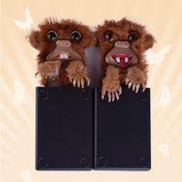 Wholesale Monkey Plastic Toys - Hot Sale Tricky Toy Tricks Scary Monkey Sneekums Toys Pet Prankster Prank Monster Monkey DHL Free Shipping