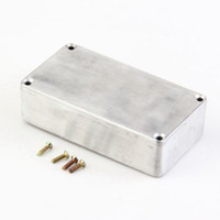 Wholesale Enclosure Pedal - Wholesale- 5 PCS Style Aluminum Stomp Box Effects Pedal 1590B Enclosure FOR Guitar sell Brand Newwholesale