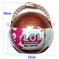 Wholesale Festival Boxes - LOL Big Surprise Doll with carton box Packing Included 50 Styles Surprise girls gift festival surprise gift ball