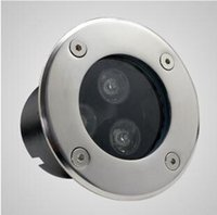 Wholesale DHL High quality w Led Underground light AC85 V V IP68 Guaranteed CE ROHS with x3W outdoor lighting