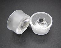 Streak Waterproof Led Lens 20.9MM 8 * 45 graus para Cree / Epileds 3535 3030 1W 3W 5W Led Chip Luz DIY 100pcs / lot