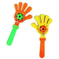 Wholesale-Nouvelle poignée Hochet Jouets sonnerie Clap Palm hochets main Clapper Party Music Toy Shaker Noise Maker Jouets éducatifs