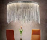 Wholesale Aluminum Industries - 2018 NEW LED luxury tassel aluminum industry chain dining room pendant light handmade retro lamp luminaire free shipping MYY