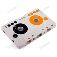 Wholesale Sd Tape Player - Wholesale-bangprice Assurance Car MP3 Player Tape Cassette Adapter for SD MMC Reader hottest
