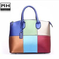 Wholesale Oppo Vintage Handbags - Wholesale-hot sell oppo women handbag fashionable color block Shoulder Bags vintage women messenger bag women bag bolsas femininas 85026