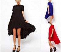Wholesale Midi Dress Designs - Summer chiffon Women Dress hot selling brand design Plus Size Maxi midi Long Dress spring Dress 2015 New top quality factory price W47