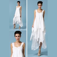 Wholesale Irregular Hem Skirt - Spring, summer, luxury, wrong layer dress Irregular hem full-skirted dress strapless dress with lace bell fashion sell