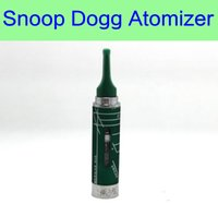 Wholesale E Cigarette Atomizer Tips - Snoop Dogg atomizer electronic cigarettes e cigs vaporizer wax dry herb vapor pen kit herbal mouth tip 510 thread DHL Free Shippng