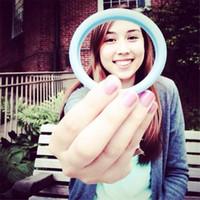 Wholesale Jelly Rubber Rings - LED Luminous edge Ring Fashion Universal Bracelet hair ring Phone Case Bumper Case Silicone Rubber Lighting Wrist Bracelets