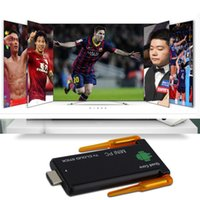 New TV double WIFI bâton CX919 II RK3188 Quad Core Android 4.4 MINI PC Smart TV Box gros