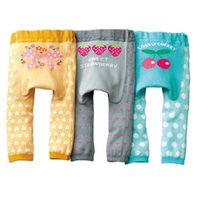 Wholesale Cheapest Brand Winter - Baby Girls Leggings Strawberry Baby Panties PP Pants Brand New Baby Trouser PP Warmers Cheapest