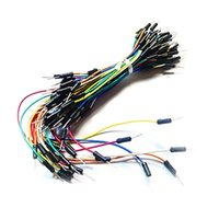 Wholesale Solderless Breadboard Jumper Cable Wires - New Wires & Cables 65Pcs Male to Male Solderless Breadboard Jumper Cable Wires For Arduino T1153 W0.5
