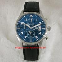 ingrosso orologi da polso completi-calendario completo e data automatica orologi luminosi automatici per uomo blu sport mens orologio da polso come regalo ww10