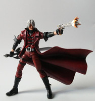 Wholesale Dante Figure - 7'' 18cm NECA Devil May Cry Dante PVC Action Figure Collectible Model Toy