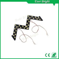 Wholesale Order Arrow - NEW!!1 pair 14 SMD Sequential Led Lights Car Turn Side Signal Arrows Lamp Arrow turn signal Indicator Safe led Panels mix order