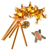 Chinoise Oriental chanceux Métal 5 Rods Pagode Feng Shui Brass Wind Chime de Bell afin $ 18Personne piste