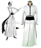Wholesale Ulquiorra Costume - Anime Bleach Cosplay - Bleach Whit Ulquiorra Cifer Grimmjow Jaggerjack Cosplay Costume Unisex full set clothes cos