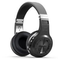 Wholesale Headphones Built Radio - Bluedio H+(Turbine) Bluetooth Stereo Wireless headphones Built-in Mic Micro-SD FM Radio BT4.1 Over-ear headphones