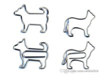 Wholesale Animal Paper Clips - Paper Clips Animal Shaped Paperclips Book Mark Filing Binding Mark Orc
